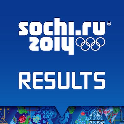 Sochi 2014 Results