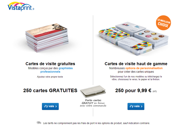 5 Sites Ou Creer Ses Cartes De Visite Business Vistaprintfr