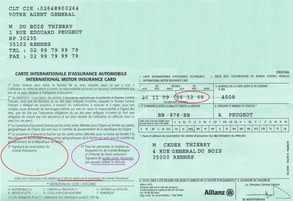 contenu 5 choses savoir sur le certificat d 39 assurance automobile. Black Bedroom Furniture Sets. Home Design Ideas